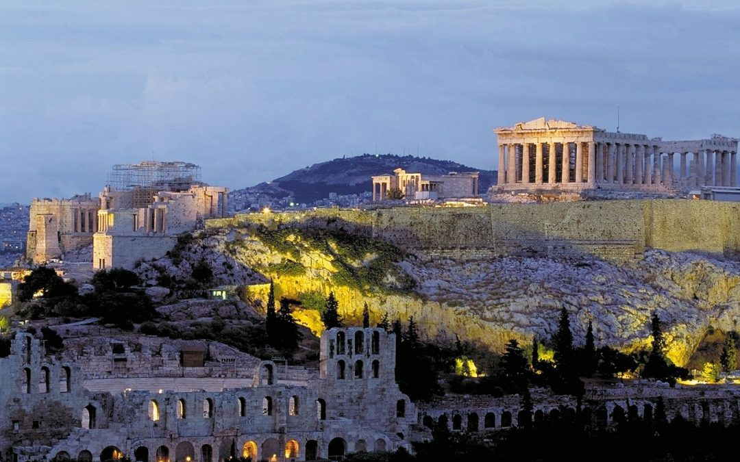Acropolis: Parthenon, Erechtheion, Theatre of Dionysus, Odeon of Herodes