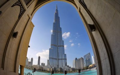 Burj Khalifa proudly bears the title of the tallest building in the world