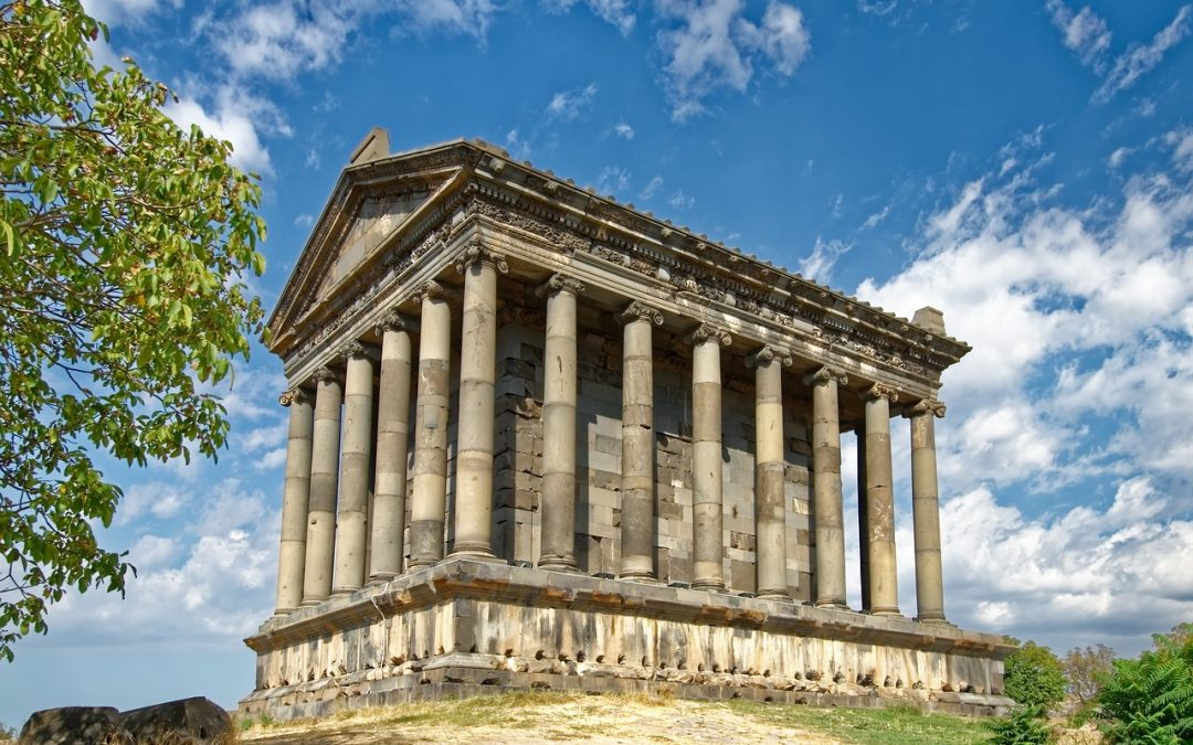 Garni – the only standing pagan temple in the former Soviet Union